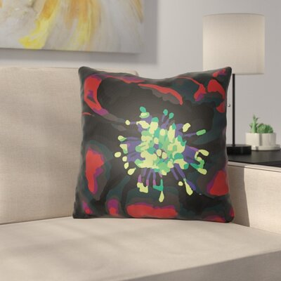 Virgil Indoor Throw Pillow Size: 22 H x 22 W x 5 D, Color: Red