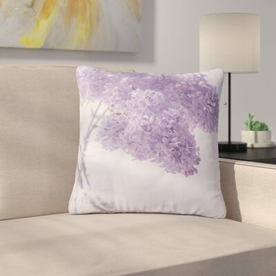 Suzanne Harford Floral Outdoor Throw Pillow Size: 16 H x 16 W x 5 D