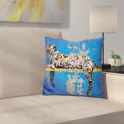 Yankee Stadium Tiger Throw Pillow