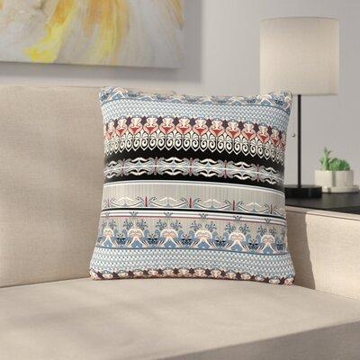 Victoria Krupp Nouveau Deco Outdoor Throw Pillow Size: 18 H x 18 W x 5 D
