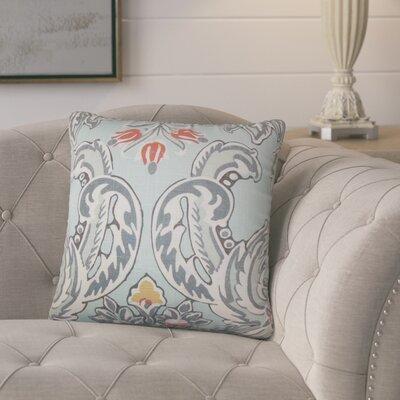 Mohall Floral Linen Throw Pillow Cover Color: Spray
