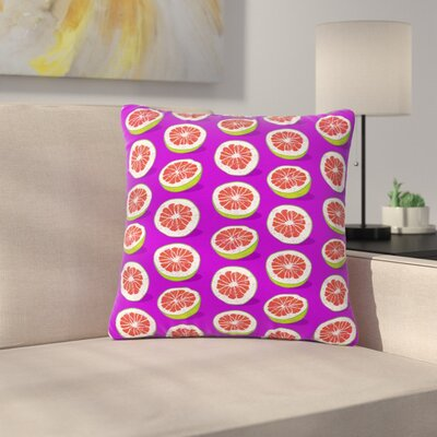 Evgenia Pomelo Outdoor Throw Pillow Size: 16 H x 16 W x 5 D