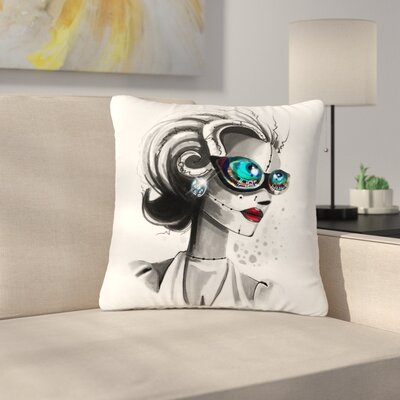 Ivan Joh Miss Monroe Outdoor Throw Pillow Size: 16 H x 16 W x 5 D