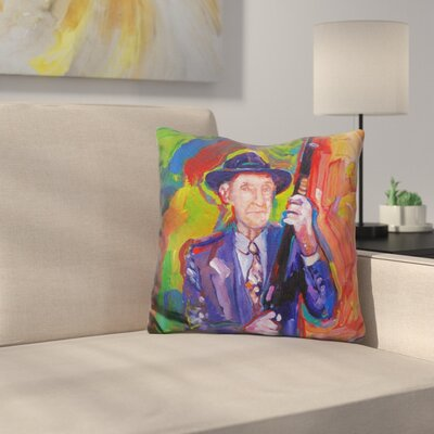 William Burroughs Throw Pillow