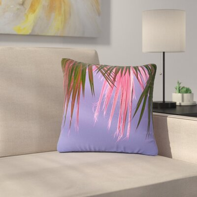 Ann Barnes Neon Jungle Outdoor Throw Pillow Size: 16 H x 16 W x 5 D