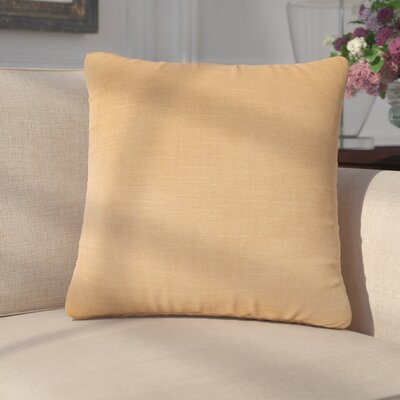 Mckayla Stain Resistant Down Filled Throw Pillow Color: Ginger