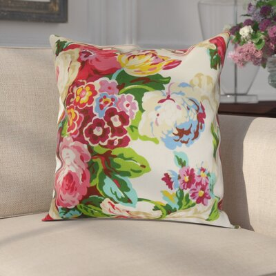Corbin 100% Cotton Throw Pillow Size: 18 x 18