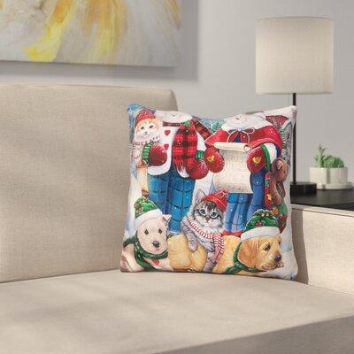 Wonder Friends Throw Pillow