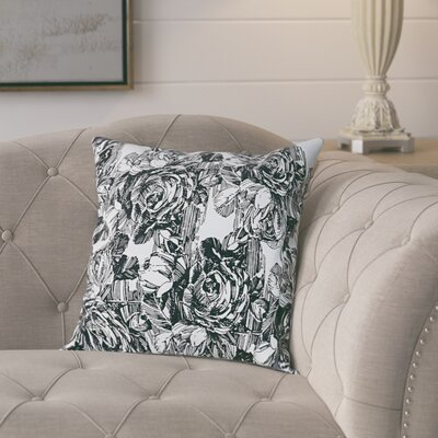 Larraine Cotton Pillow Cover Color: Dark Gray
