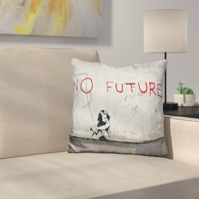 No Future Throw Pillow