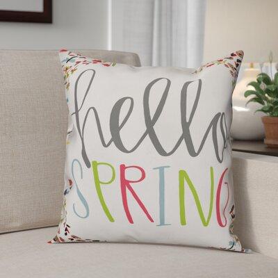 Blais Hello Spring Throw Pillow