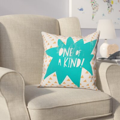 Kory One of A Kind Throw Pillow Color: Teal