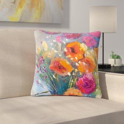 Carol Schiff Roadside Bouquet Outdoor Throw Pillow Size: 16 H x 16 W x 5 D