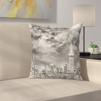 City Light Pillow Cover Size: 20 x 20