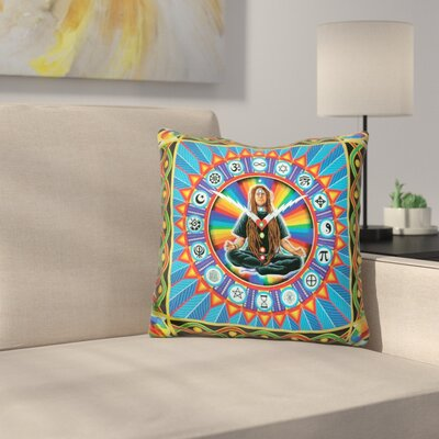 Time for Oneness Throw Pillow
