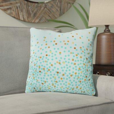 Holley Splash Outdoor Throw Pillow Size: 16 H x 16 W x 4 D