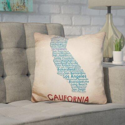 Corman California Throw Pillow