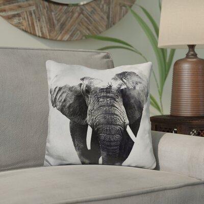 Eckman Elefanten Throw Pillow