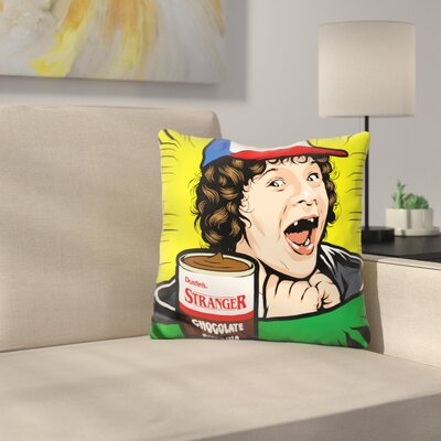 Stranger Pudding Throw Pillow
