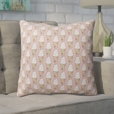 Garcia Indoor/Outdoor Throw Pillow Size: 16 H x 16 W x 4 D