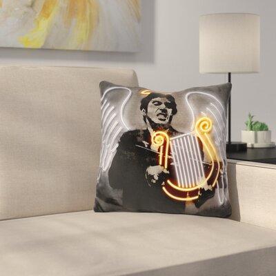 Fallen Angel Throw Pillow