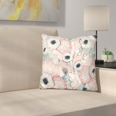Vintage Garden Throw Pillow
