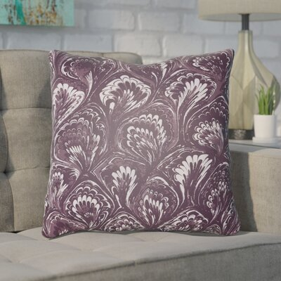 Maidstone Throw Pillow Size: 20 H x 20 W x 4 D, Color: Purple