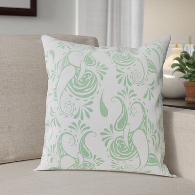 Klassen Indoor/Outdoor 100% Cotton Pillow Cover Color: White/Hemlock
