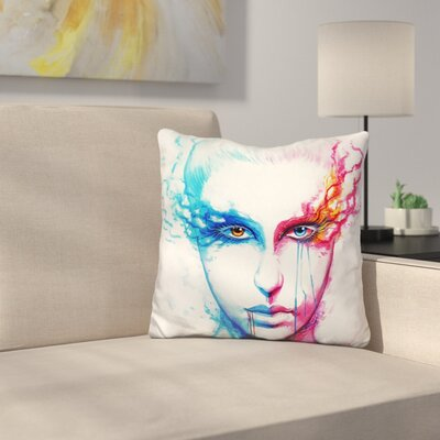 Bipolarity Throw Pillow