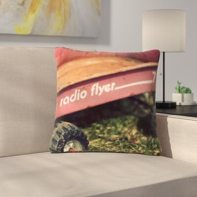 Angie Turner Radio Flyer Outdoor Throw Pillow Size: 18 H x 18 W x 5 D
