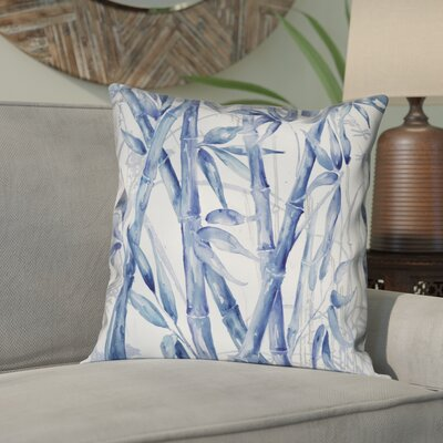 Brookline Asian Bamboo Outdoor Throw Pillow