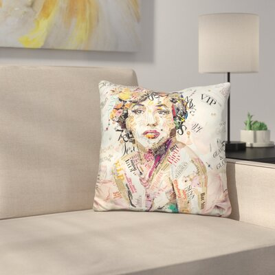 Glam Glory Throw Pillow