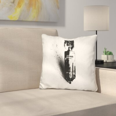 Weapon of Mass Creation Throw Pillow