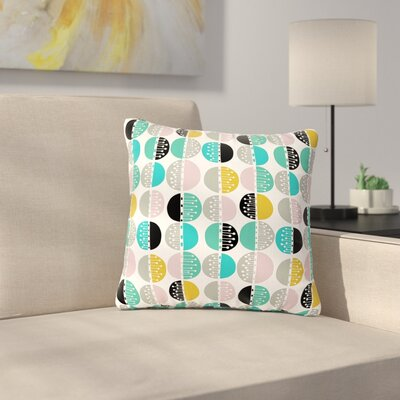 Jessica Wilde Carnival Stripe Outdoor Throw Pillow Size: 18 H x 18 W x 5 D