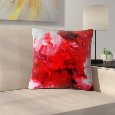 Claire Day Simmer Outdoor Throw Pillow Size: 18 H x 18 W x 5 D