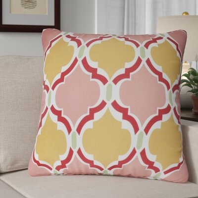 Lostant Decorative Throw Pillow Color: Pink