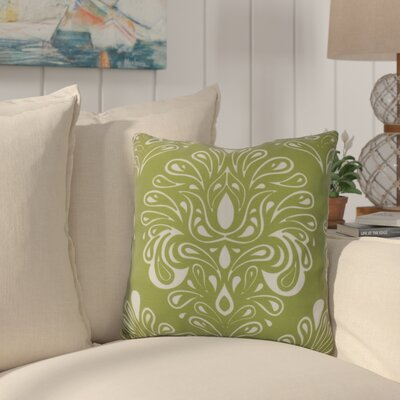 Hardouin Outdoor Throw Pillow Size: 20 H x 20 W x 3 D, Color: Green