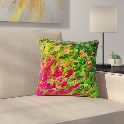 Ebi Emporium Watermelon Splash Fuchsia Outdoor Throw Pillow Size: 18 H x 18 W x 5 D