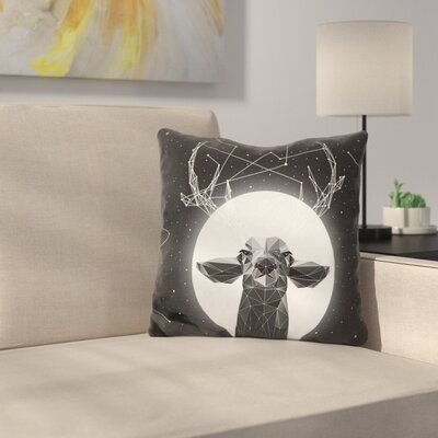 Martucci Banyan Deer Throw Pillow