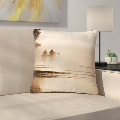 Angie Turner Misty Morning Outdoor Throw Pillow Size: 16 H x 16 W x 5 D