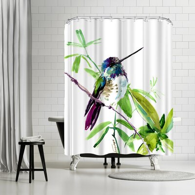 Suren Nersisyan Little Hummingbird Shower Curtain