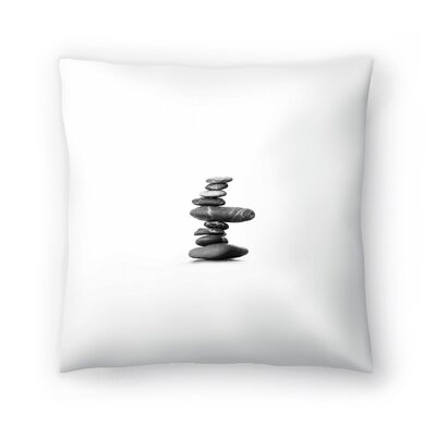 Balance Throw Pillow Size: 16 x 16
