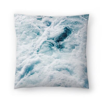 Midnight Storm Throw Pillow Size: 16 x 16