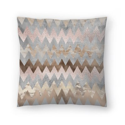 Trendy Chevron Throw Pillow Size: 16 x 16