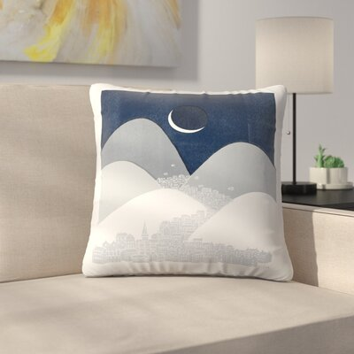 Bleak Midwinter Throw Pillow Size: 14 x 14