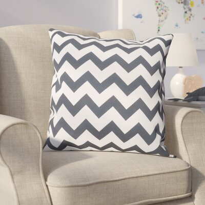 Milo Decorative Throw Pillow Size: 20 H x 20 W, Color: Black