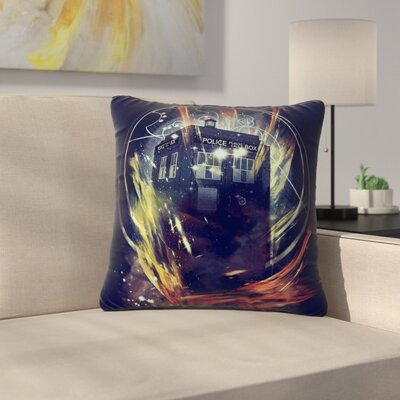 Frederic Levy-Hadida Its Lightfull Inside Digital Fantasy Outdoor Throw Pillow Size: 18 H x 18 W x 5 D