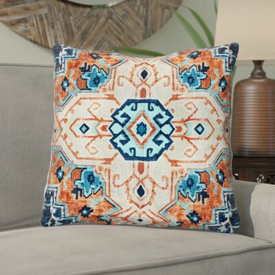 Taya Beaded 100% Cotton Throw Pillow