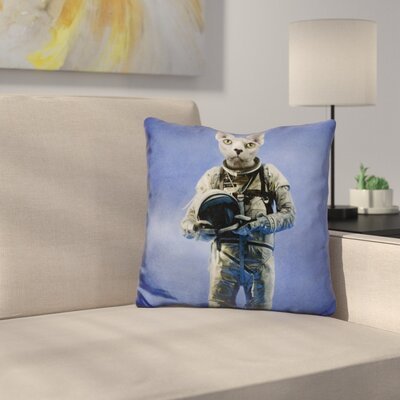 Look Into The Distance Throw Pillow