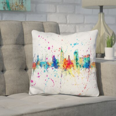 Jasinski Portsmouth England Throw Pillow